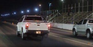Picadas camionetas en Lavalle