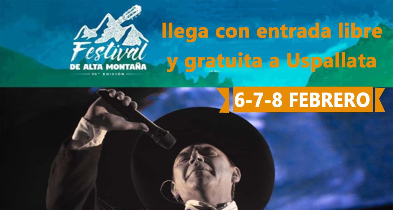 El Chaqueño Palavecino en Festival de Alta Montaña