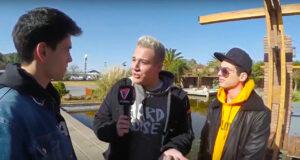 Entrevista al dúo musical MyA en su paso por Mendoza.
