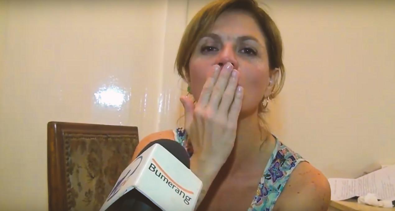 Marcela Morelo en Malargüe 2020.
