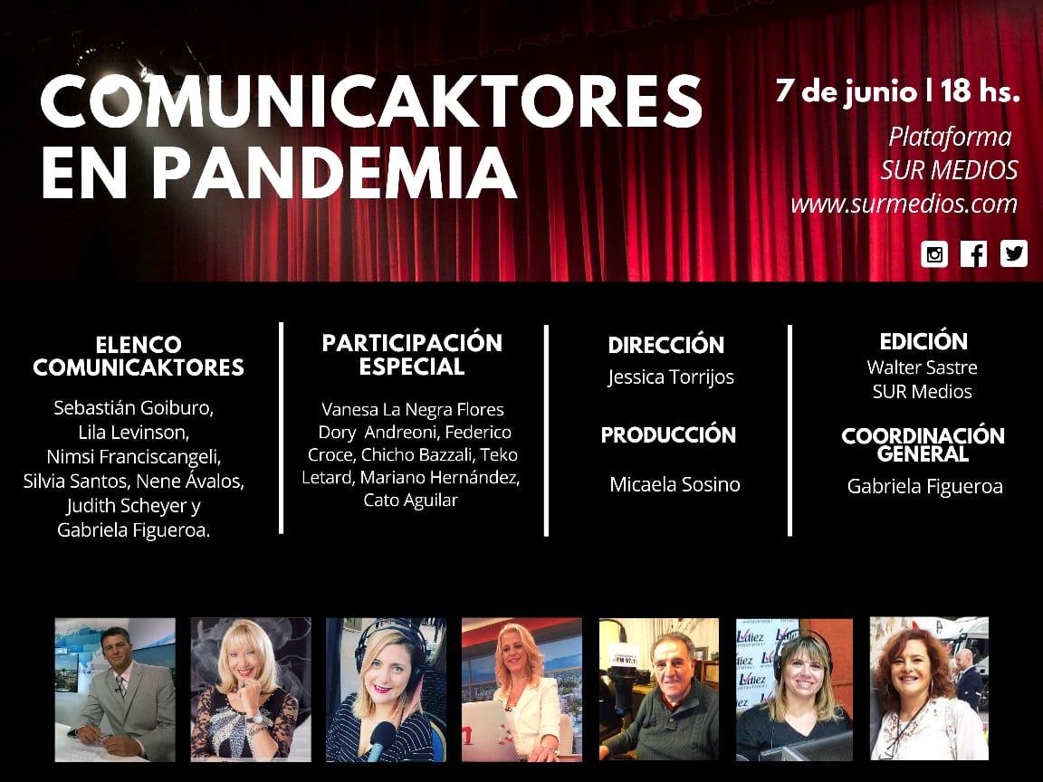 Comunicaktores en Pandemia